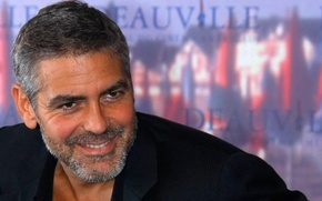 Picture actor, style, man, face, coat, eye, handsome, george clooney, celebrity, celeb, beard, american style