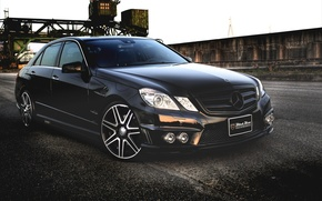 Picture Black, Tuning, Mercedes, Mercedes, Benz, Car, Car, Black, WALD, Line, Wallpapers, Tuning, Sport, Beautiful, Wallpaper, ...