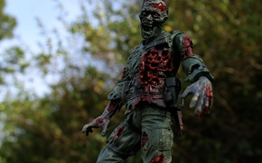 Picture toy, figurine, Zombies, dead