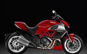 Picture Red, Ducati, Ducati Diavel