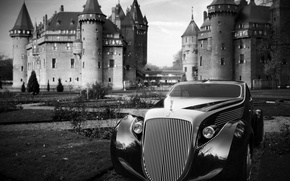 Picture castle, the concept, Rolls-Royce Jonckheere Aerodynamic Coupe II, Ugur Sahin
