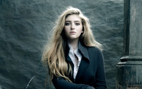 Picture portrait, actress, blonde, photographer, Willow Shields, Willow Shields, Ricky Middlesworth