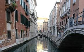 Picture street, building, Italy, Venice, channel, the bridge, Italy, bridge, street, Venice, Italia, Venice, canal