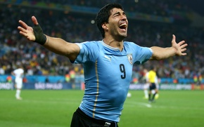 Picture Football, Brazil, Football, Sport, Player, Goal, Brasil, FIFA, FIFA, Uruguay, Uruguay, Player, Luis Suarez, Luis …