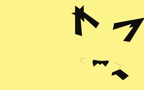 Picture image, pokemon, part of the body, Pichu, pichu, hasn't finished