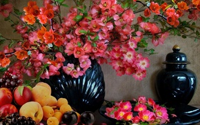 Picture Flowers, vase, still life
