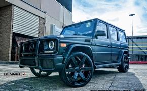 Picture drives, Mercedes Benz, Gelandewagen, G63, All-terrain vehicles, Concavo Wheels