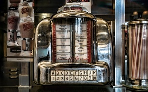 Picture automatic phonograph, juke box, Nickelodeon, jukebox
