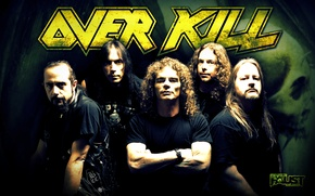 Picture rock, thrash metal, overkill