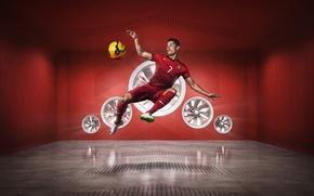 Picture Sport, Star, Football, Portugal, Form, Football, Portugal, Cristiano Ronaldo, Sport, Player, Crstiano Ronaldo, NIKE, Kit
