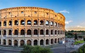 Picture The city, Rome, Italy, Colosseum