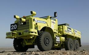 Picture Yellow, Parker, Truck, Michelin, Oshkosh, Other Technics, to ilonk