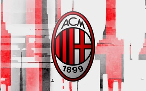 Picture wallpaper, Italy, football, AC Milan