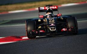 Picture Lotus, Formula 1, Team, Pastor Maldonado, E23