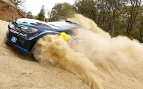 Picture Dust, Volkswagen, WRC, Rally, Polo