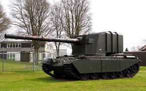 Picture tank, British, WW2, heavy, Centurion, Gun Tank