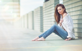 Picture white, road, beautiful, jeans