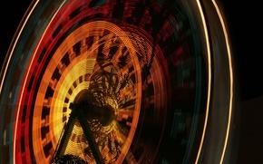 Wallpaper light, Ferris wheel