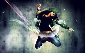 Wallpaper style, dance, guys