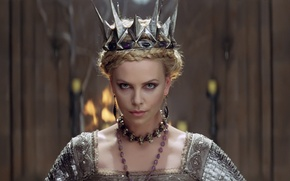 Picture Charlize Theron, screenshot, Charlize Theron, Queen, evil, Snow White and the Huntsman, Snow white and …