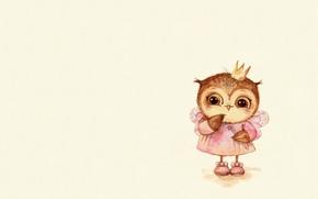 Picture mood, holiday, owl, art, outfit, carnival, magic wand, children's, suit, sovushka, fake, Inga Paltser, Inga, …