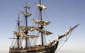 Picture photo, ship, sailboat