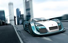 Picture sports car, Apollo Speed, Gumpert