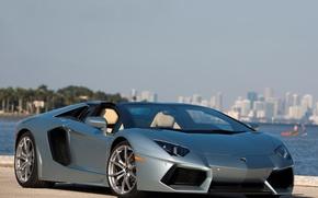 Picture supercar, roadster, aventador, lp700-4, voitur