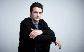 Wallpaper chair, James Franco, Larry Busacca, James Franco, photoshoot, actor, jumper