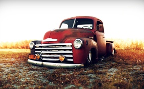 Picture Chevrolet, Cars, Classic, Trucks, Custom, 1949, Stance Works, Lowriders