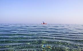 Picture sea, sport, boat