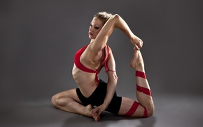 Picture girl, sport, gymnastics