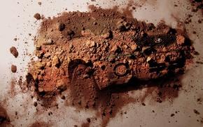 Wallpaper auto, Dust, dirt