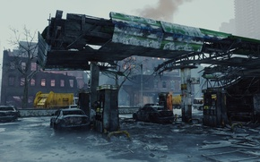 Picture The city, Apocalypse, Tom Clancy's, Ubisoft Entertainment, The Division