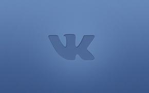 Picture background, logo, logo, vkontakte, Vkontakte