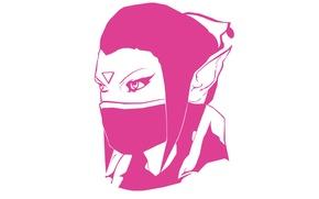 Picture Valve, Dota 2, Minimalism, Lana, Templar Assassin, Trap, Psi Blades, Psionic Trap, Refraction, Meld