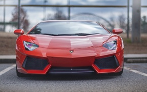 Picture Lamborghini, Parking, LP700-4, Aventador