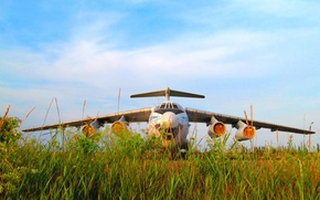 Picture the airfield, Aviation, The Il-76