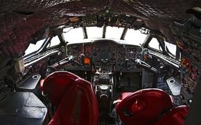 Wallpaper cabin, aviation, the plane