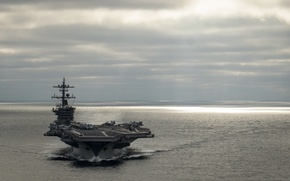 Picture weapons, army, aircraft carrier, USS Carl Vinson (CVN 70)