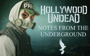 Picture Hollywood Undead, Notes from the underground, J-dog