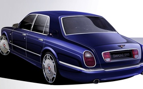 Picture retro, Bentley, Arnage