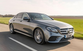 Picture Mercedes, Mercedes, AMG, The front, E220