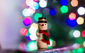 Picture background, toy, snowman