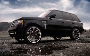 Picture Clouds, Auto, Tuning, Machine, Land Rover, Range Rover, Drives