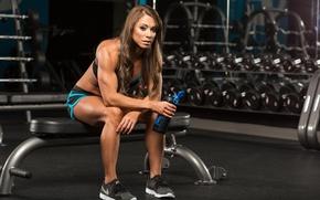 Wallpaper fitness, rest, workout, rehydration