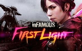 Picture dlc, PlayStation 4, InFamous, Abigail Walker, inFamous: First Light