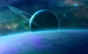 Picture space, surface, planet, space, qauz