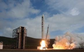 Picture rocket, start, start, Spaceport