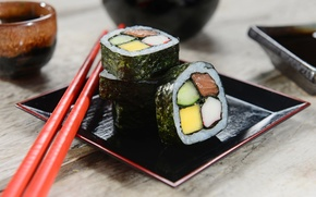 Picture sticks, rolls, sushi, sushi, rolls, filling, Japanese cuisine, sticks, Japanese cuisine, stuffing